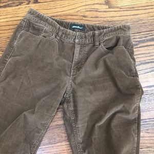 Eddie Bauer brown Corduroy brown 8